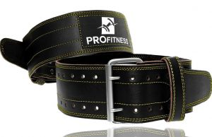 ProFitness Leather Workout Belt