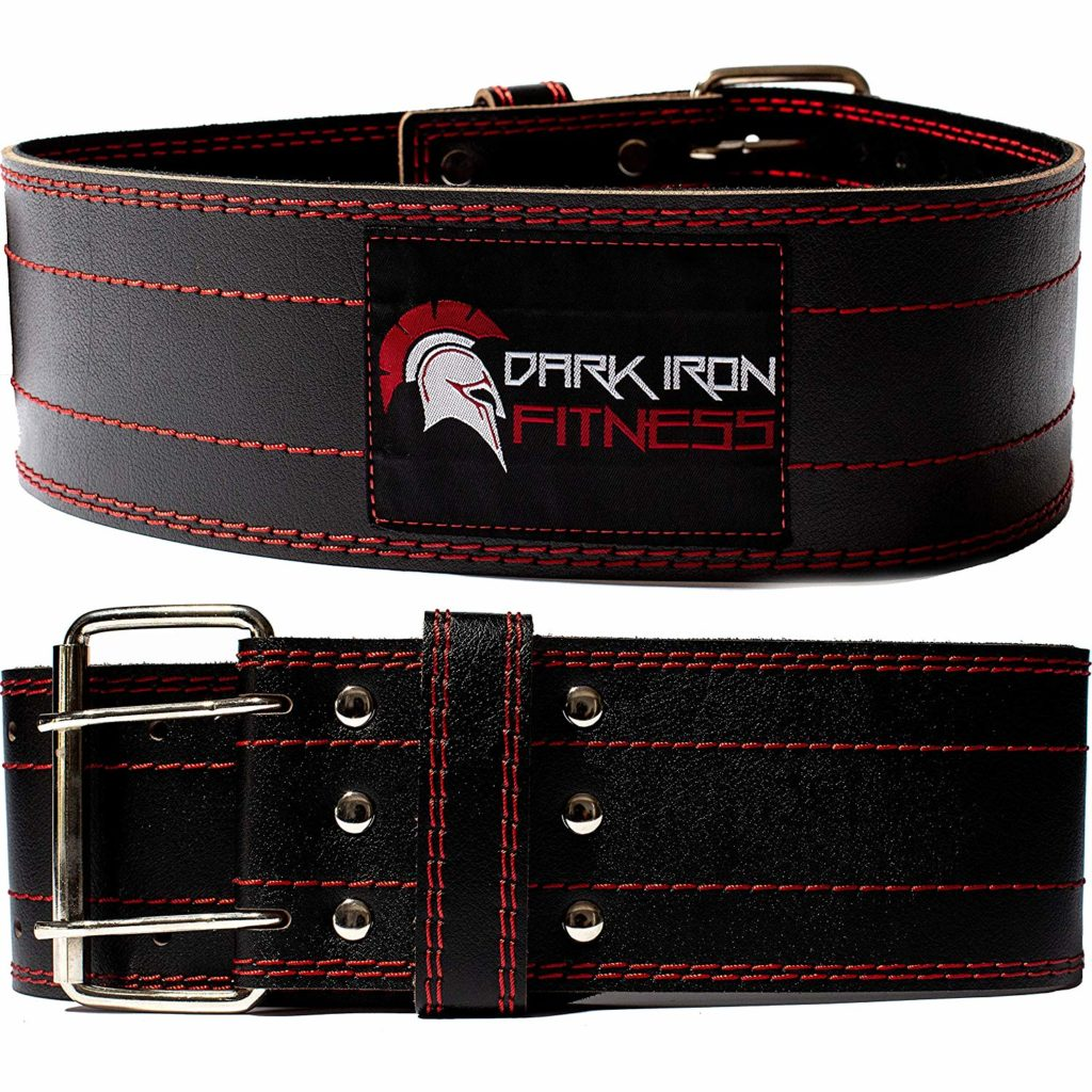 Dark Iron Fitness Belt For Powerlifting.