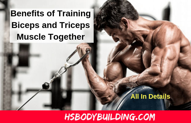 Benefits of Training Biceps and Triceps Muscle Together: