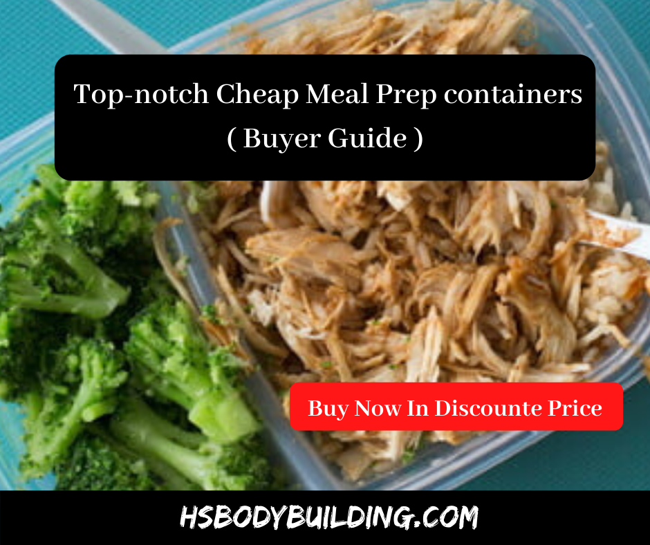 Cheap Meal Prep containers